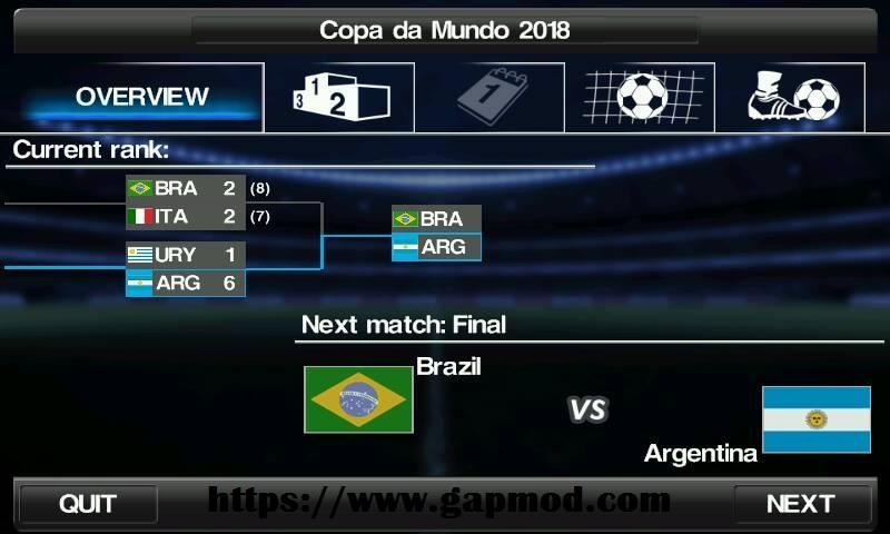 Download Winning Eleven 2018 v2 Mod Apk Offline - Soccer Mod