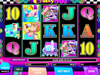 Find Exquisite Gaming Pleasure When Playing The 1980s Crazy 80's Slots