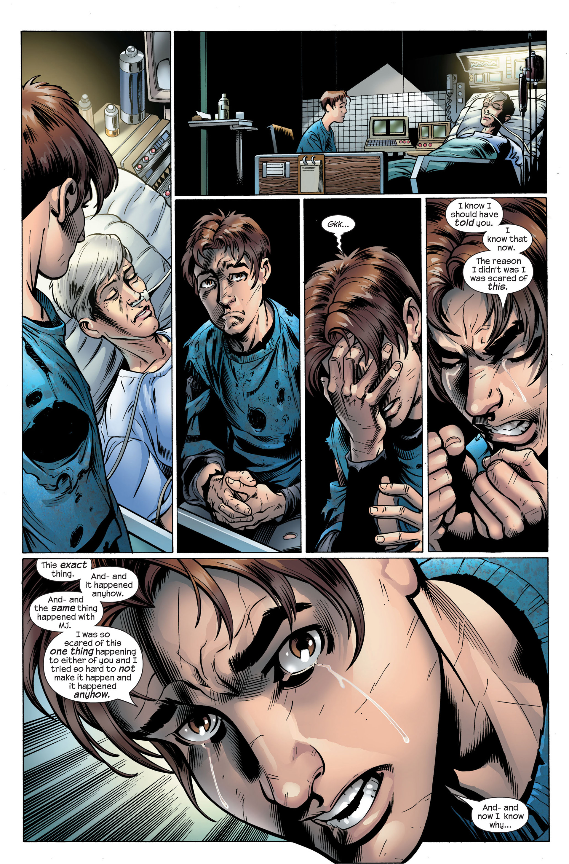 Read online Ultimate Spider-Man (2000) comic -  Issue #105 - 8