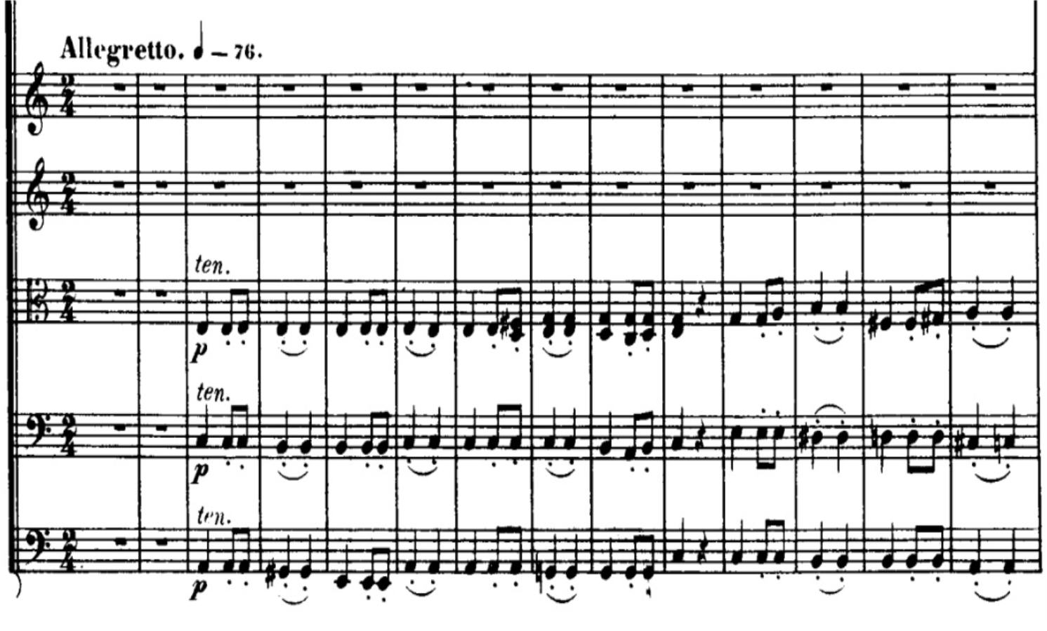 beethovens seventh symphony analysis Buy the allegretto from beethovens 7th symphony by l at jwpeppercom concert band sheet music arranged in 2013 this arrangement of beethovens work enc.