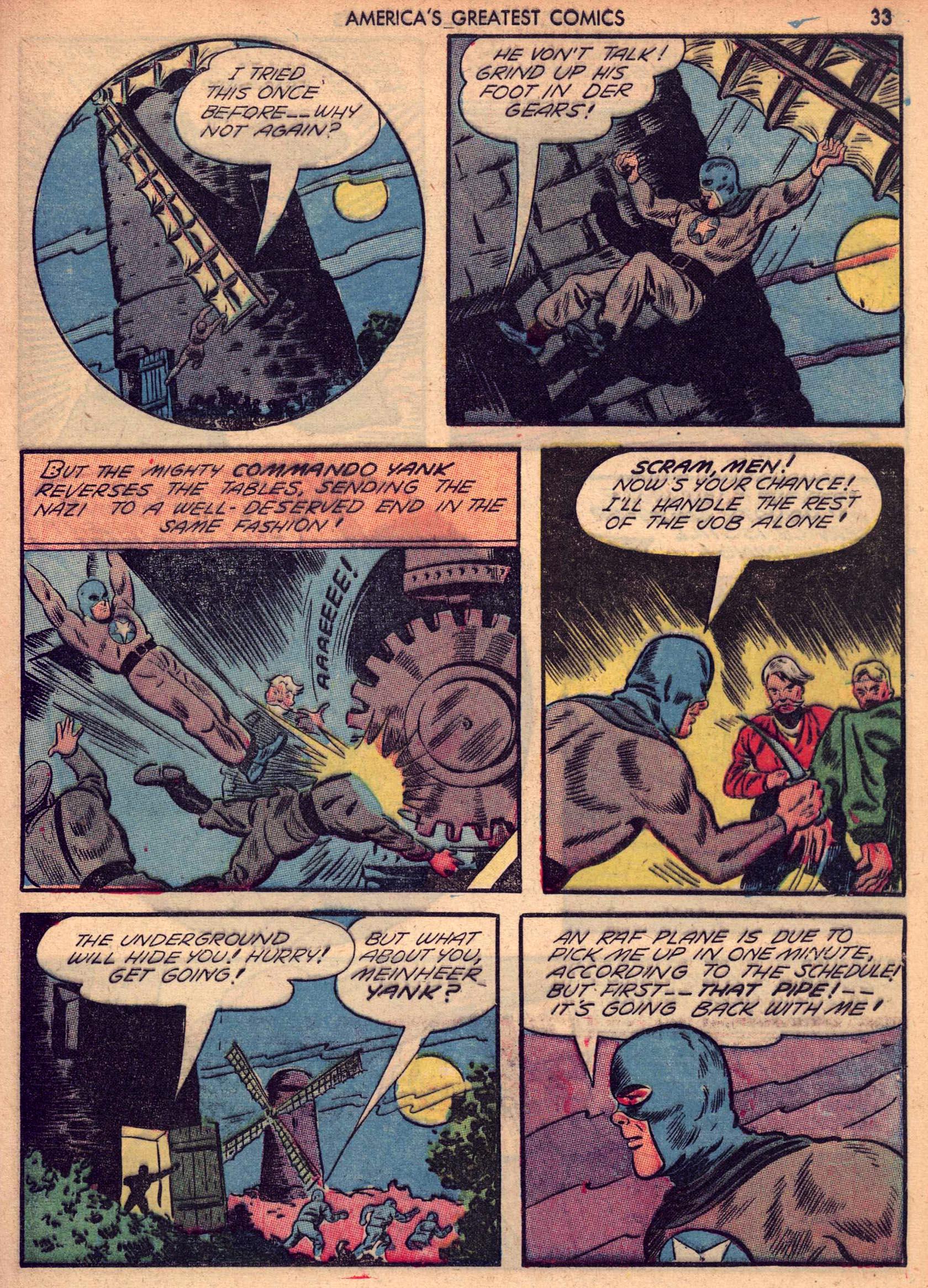 Read online America's Greatest Comics comic -  Issue #7 - 32