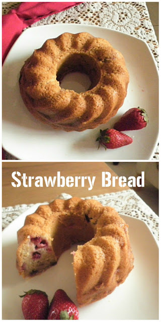 Strawberry Bread  Recipe@ treatntrick.blogspot.com