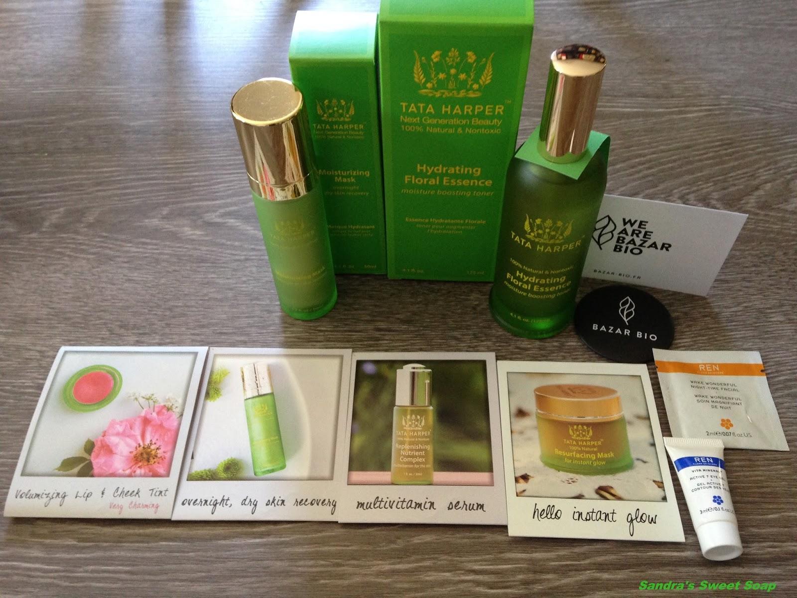 sandra 39 s sweet soap review revue sur l 39 hydrating floral essence de tata harper. Black Bedroom Furniture Sets. Home Design Ideas