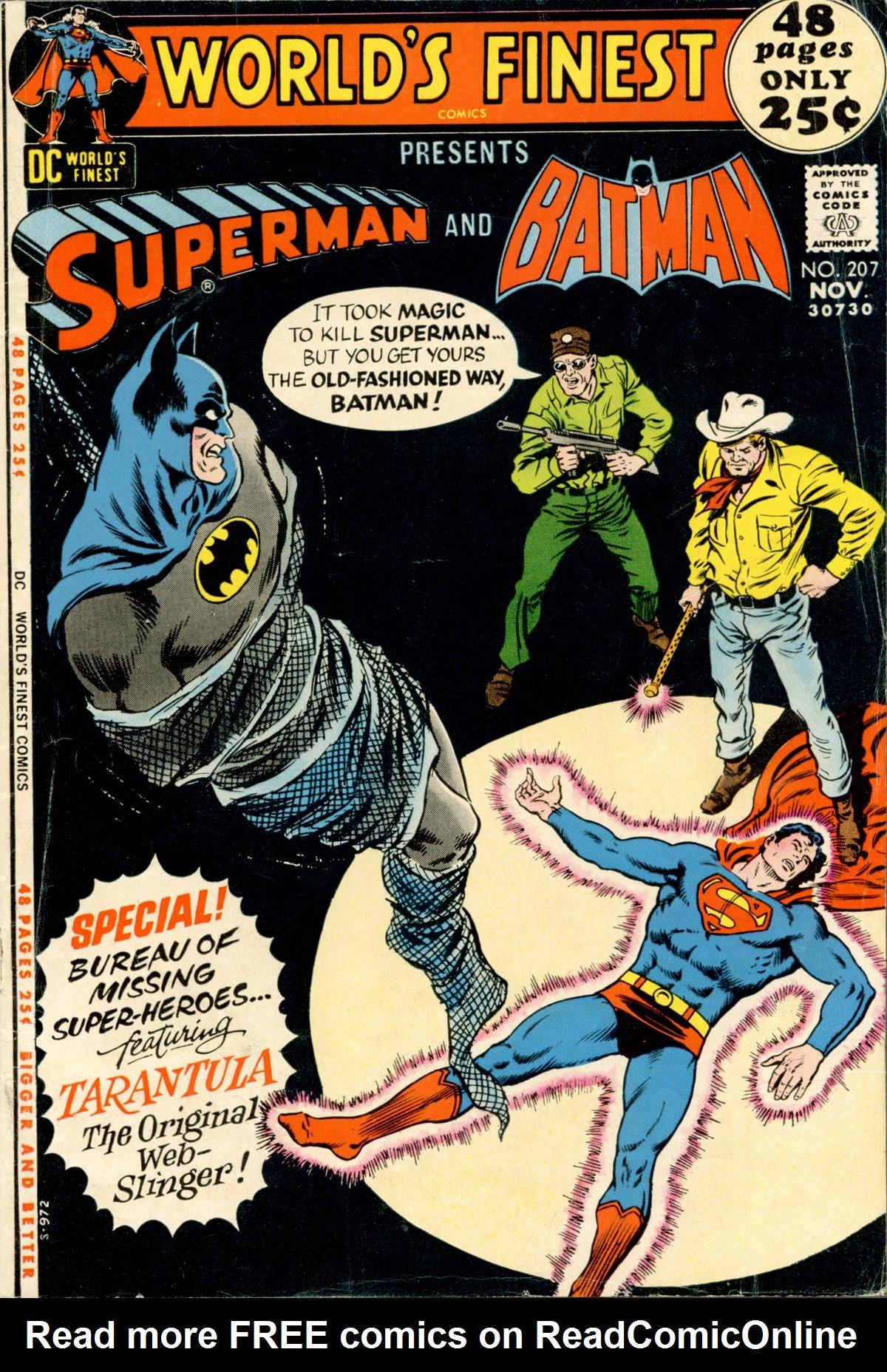 Read online World's Finest Comics comic -  Issue #207 - 1