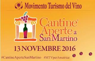 Cantine Aperte a San Martino 13 Novembre lombardia