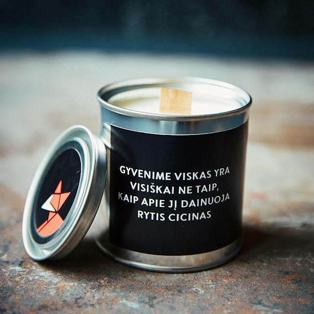 Aromaterapinių žvakių kolekcija