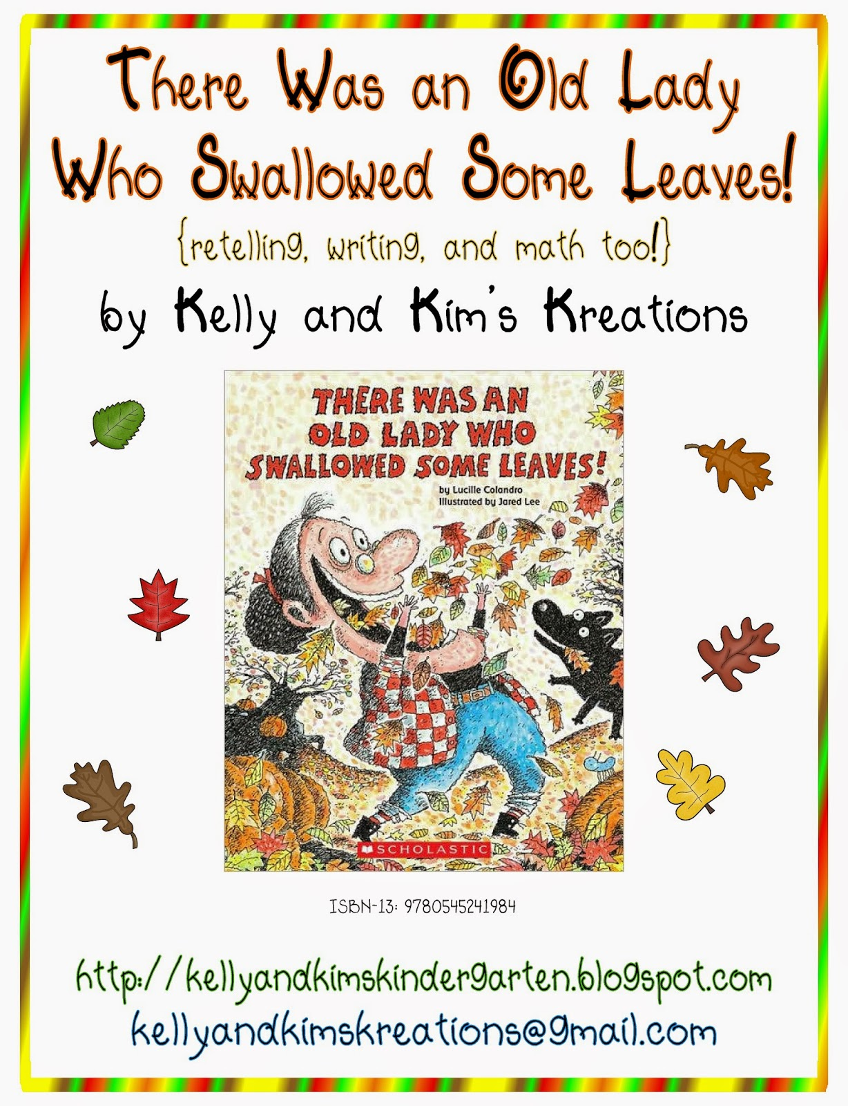 There Was Old Lady Who Swallowed Turkey Activities