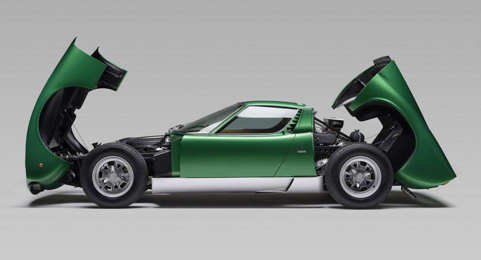 Iconic Lamborghinis Coming To Salon Prive Including Original Miura SV