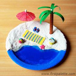 okul-etkinligi-cocuklar-icin.minyatur-boyama-plaj-tuz-hamuru-modelleme
