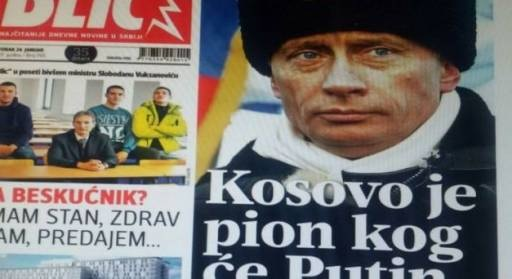 Blic: Putin and Russia ready to recognise Kosovo