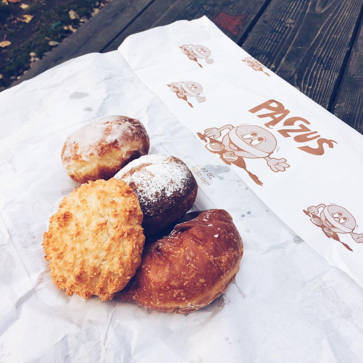 pączki z cukierni Pączuś w Gdyni