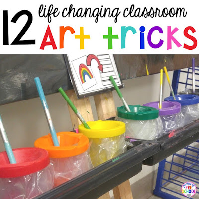 12 Life Changing Classroom Art Hacks every teacher should know (my favorite is the one about glitter)