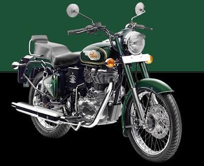 Royal Enfield Bullet 500 Cruiser Motorcycle Image