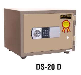 """Brankas Fire Resistant Safe Digital Daichiban DS 20 D"""