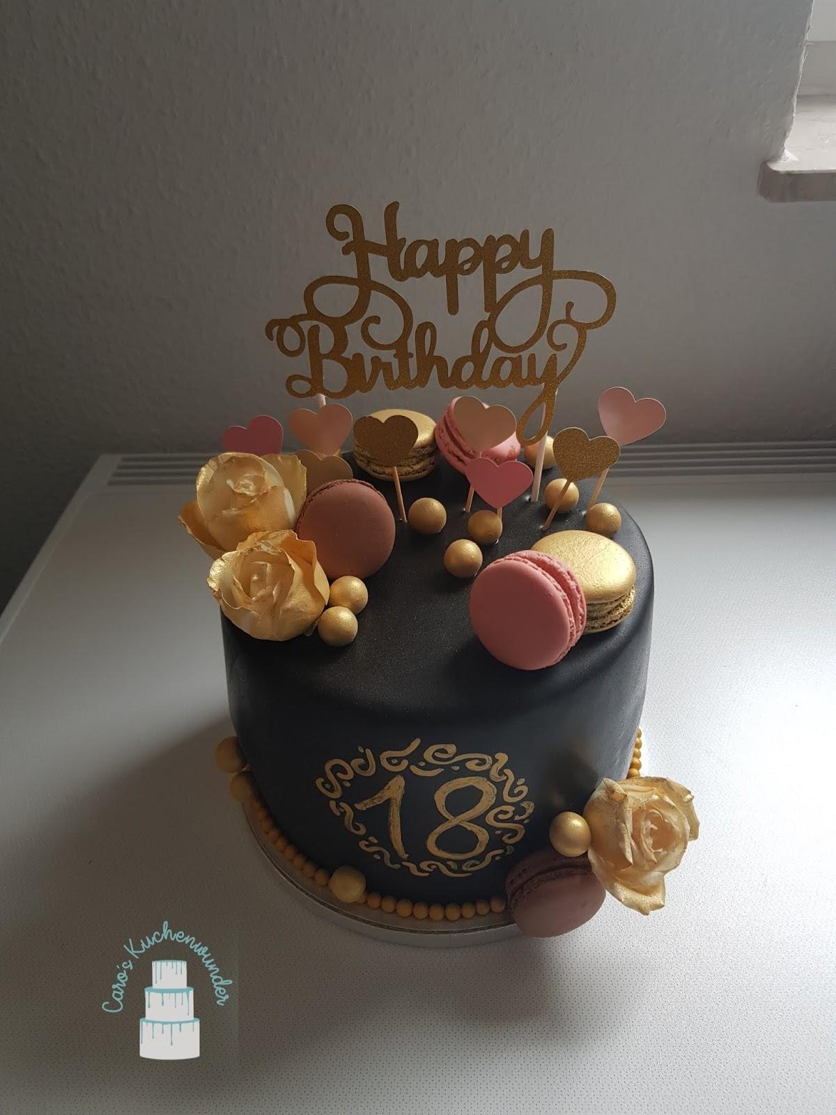 Torte Zum 18 Geburtstag