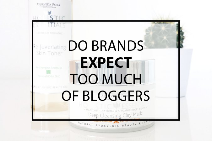 Do Brands Expect Too Much of Bloggers
