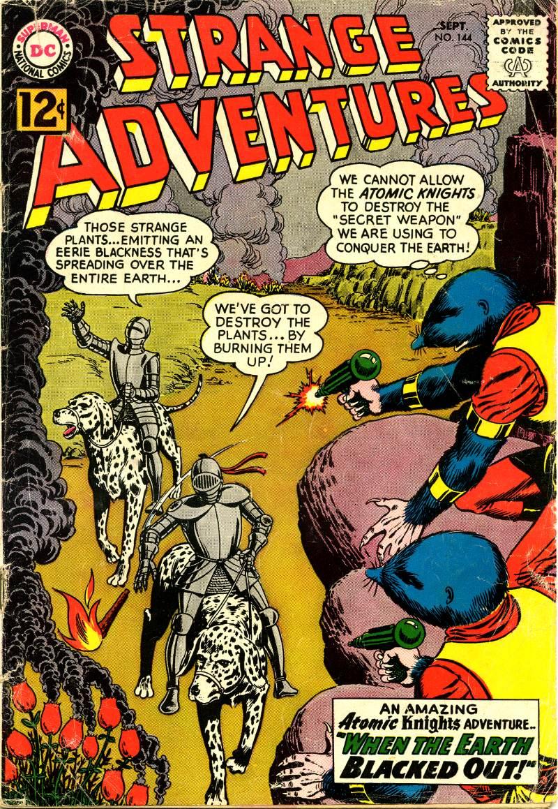 Strange Adventures (1950) issue 144 - Page 1
