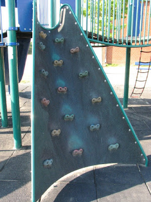 Oak Ridge School Sandwich Climbing Area