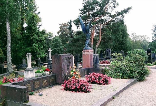 Hietaniemi graveyard Helsinki Finland