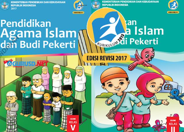Buku Pendidikan Agama Kelas 2 dan 5 Kurikulum 2013 Revisi
