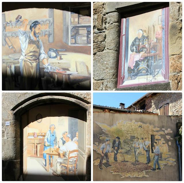 Village de Meyras, Ardèche
