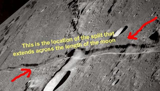 Subhanallah! Inilah Bukti Nyata Bahawa Nabi Muhammad Pernah Membelah Bulan Menjadi Dua, NASA Tercengang Dengan Penelitiannya!