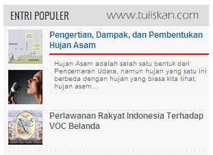 Cara Modifikasi Widget Popular Post Blogger, modifikasi popular post, modifikasi entri populer