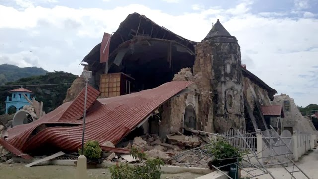The centuries-old Loboc Church in Bohol | Cebu Bohol Earthquake
