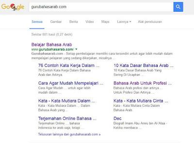Kata Kunci Gurubahasarab.com