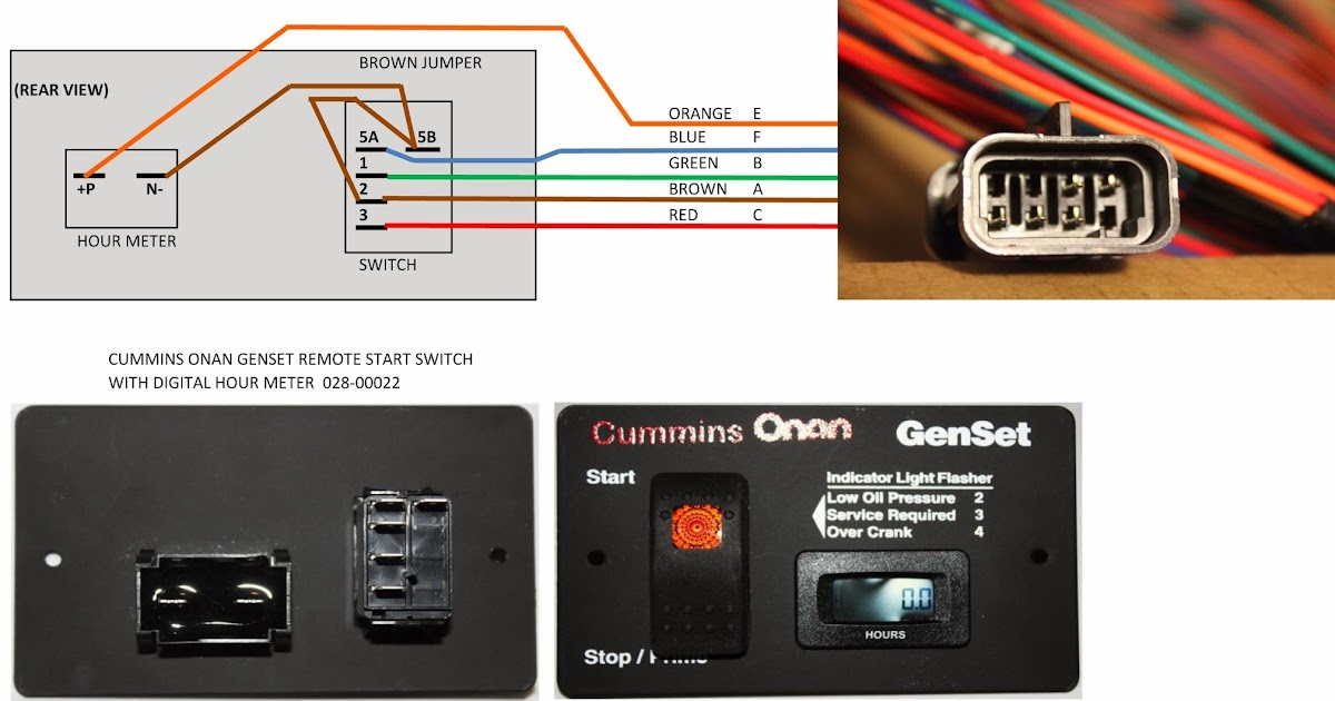 Onan Generator Remote Start Wiring Diagram - Happy Living