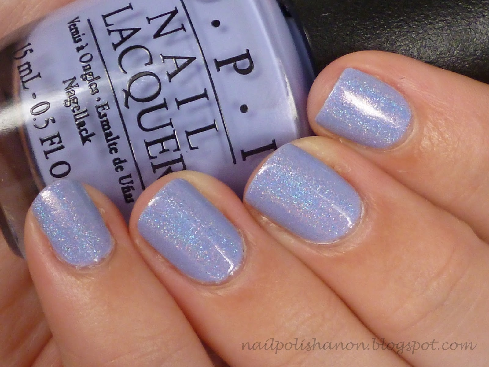 Nail Polish Anon Opi You Re Such A Budapest Amp Holofication