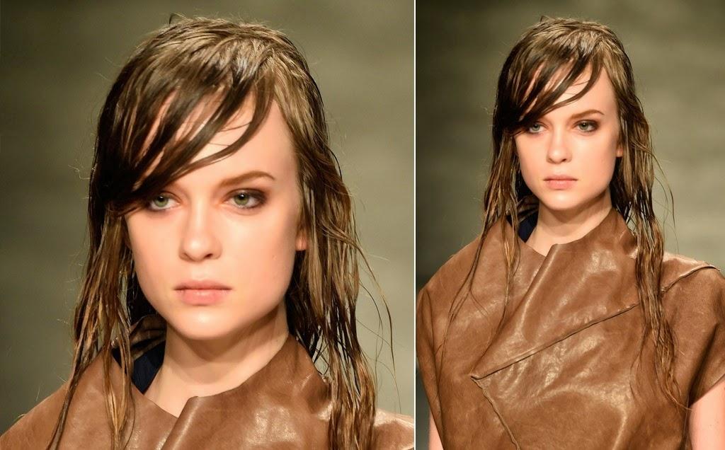 O look desencanado, de quem não teve tempo para se embelezar antes de sair de casa, virou tendência e dominou as passarelas da semana de moda nova-iorquina