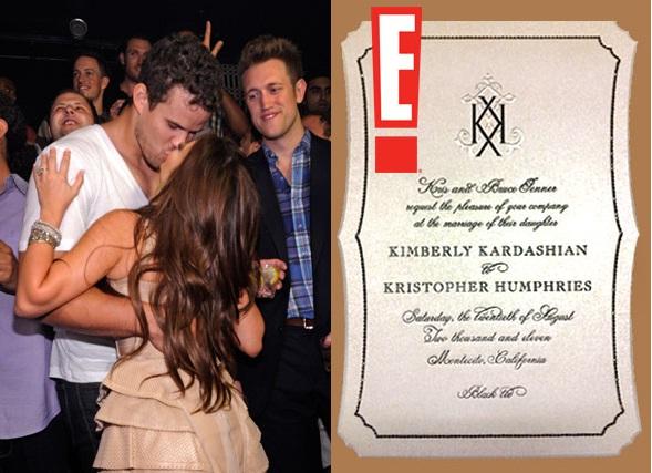 Kim Kardashian Wedding Invitation: Dimashaporana: Kim Kardashian Wedding Invitation