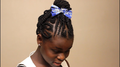 5 Quick Hairstyles for Natural Hair Teenagers  | DiscoveringNatural