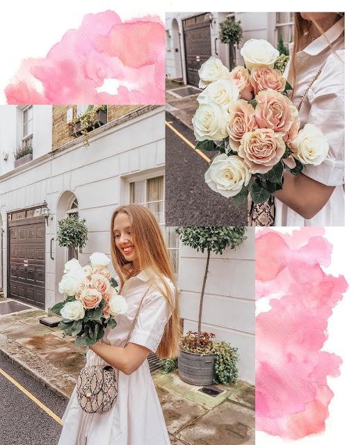 UK London Luxury feminine blogger pink