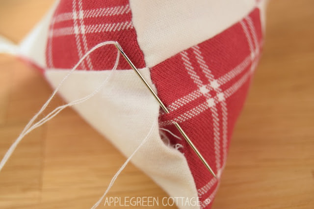 Scandinavian Style DIY Christmas Ornaments - Sewing Tutorial