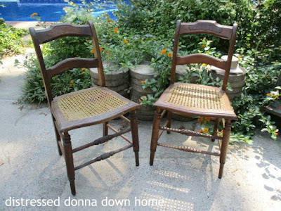 quick makeovers, Howard's Restor-A-Finish, Vintage chairs, NCR money drawer