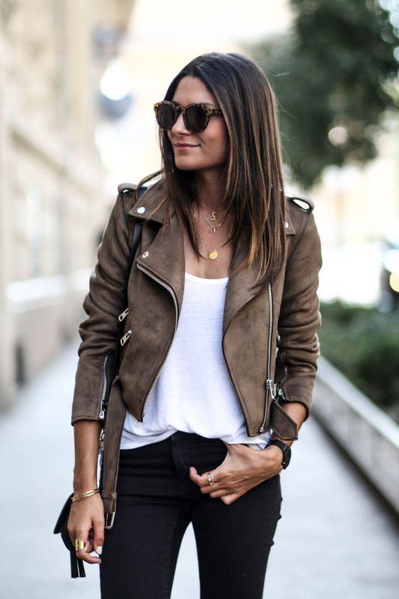 62 Style Tips On How To Wear A Leather Jacket How To