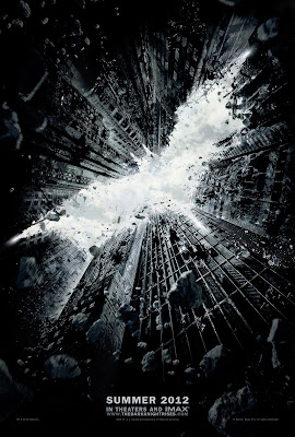 Dark Knight Rises Film Poster - Batman 3