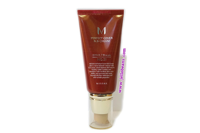 Missha Perfect Cover BB Cream SPF 42 PA+++ in No. #21 Light Beige