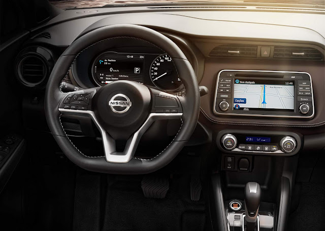 Novo Nissan Kicks 2017 - interior