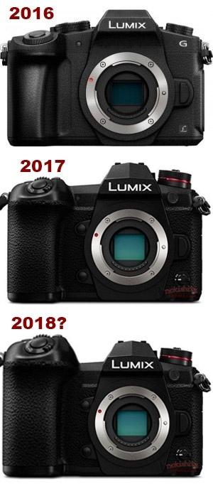 Рост размеров камер Panasonic Lumix