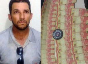 Pastor é preso com R$ 800 em notas falsas