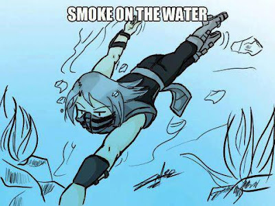 ...SMOKE ON THE WATER...