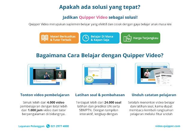 Cara Dapatkan Kode Promosi Quipper Video Tahun Ini