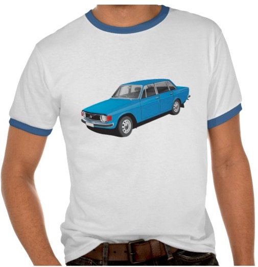 Swedish Volvo 140t-shirt