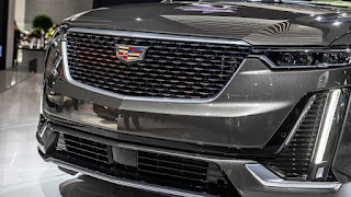 2020 Cadillac XT6 SUV front grille