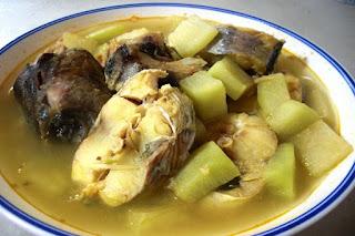 Kuliner khas Jangan Mrico Pati