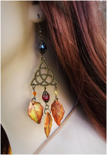 Shop Celtic Autumn Fall Earrings