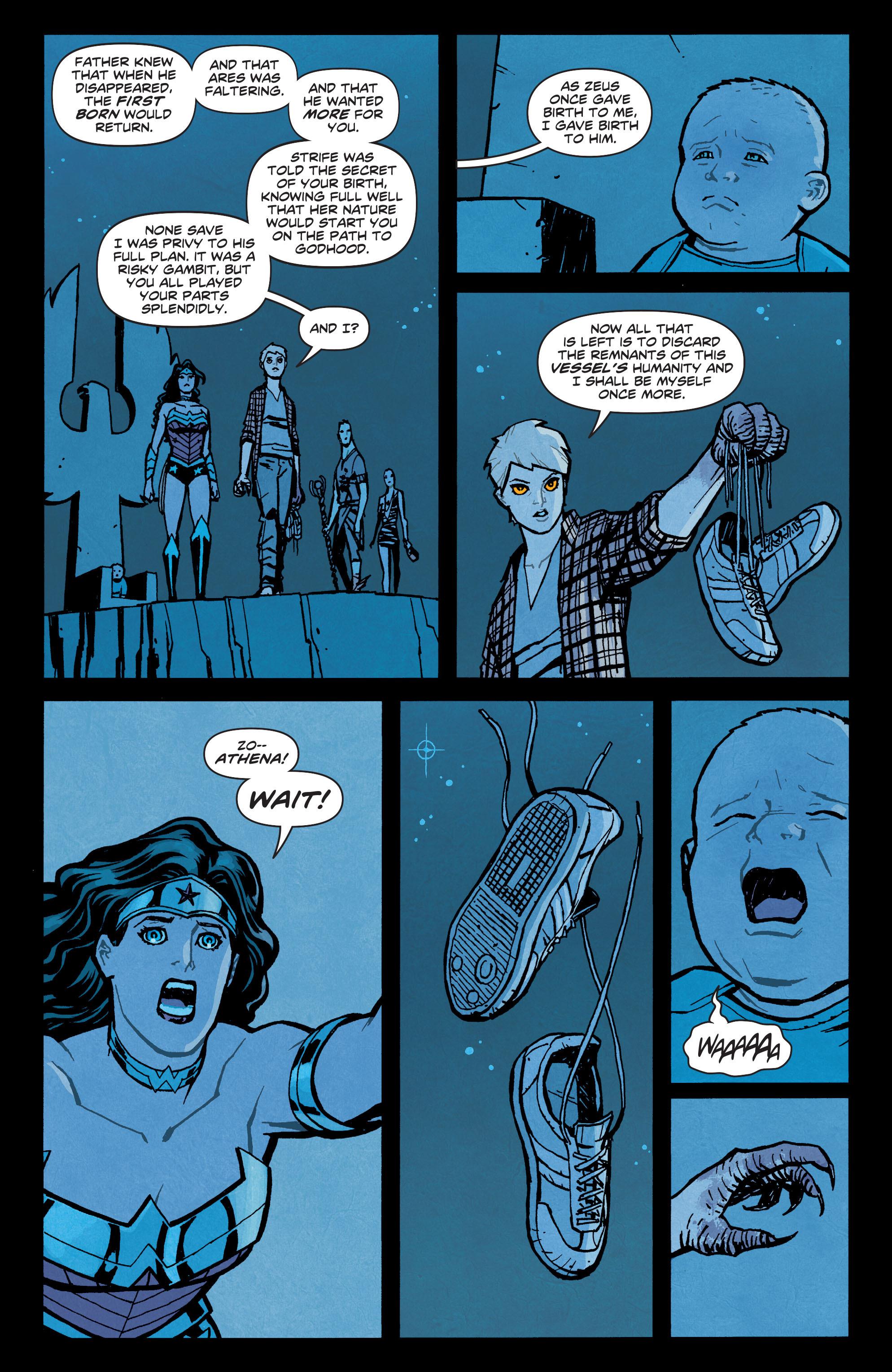 Read online Wonder Woman (2011) comic -  Issue #35 - 19